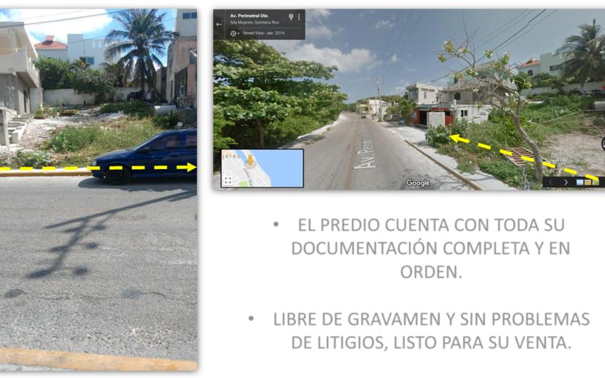 Venta de Terreno en Isla Mujeres 253m²