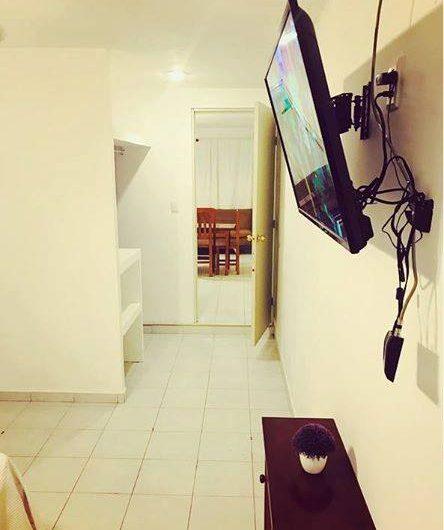 Renta segura de departamento de dos habitaciones a 5 minutos de zona hotelera