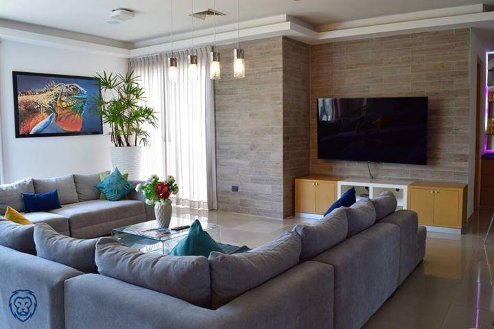 Renta de Suite de tres habitaciones amuebladas