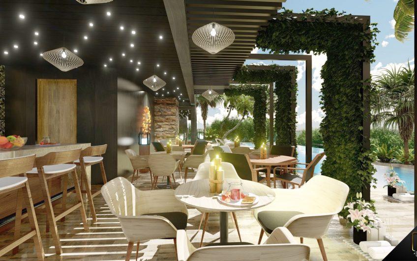 Venta de ESTUDIOS en Playa del Carmen. Amoblados y Equipados. Concepto Hotel Boutique