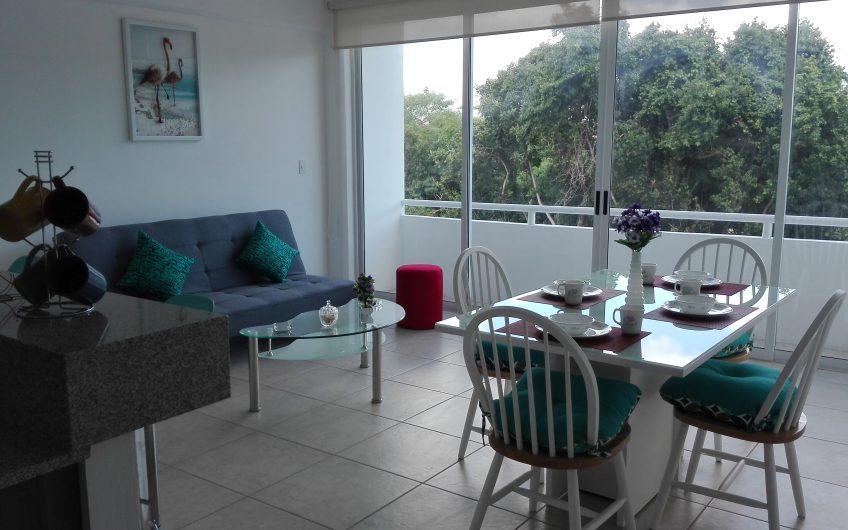 Bonito departamento y la mejor ubicación en Cancún centro (10 mins de Zona Hotelera)!